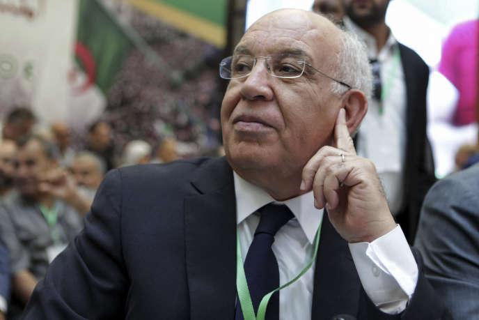 Abdelaziz Rahabi à Alger, le 6 juillet 2019.