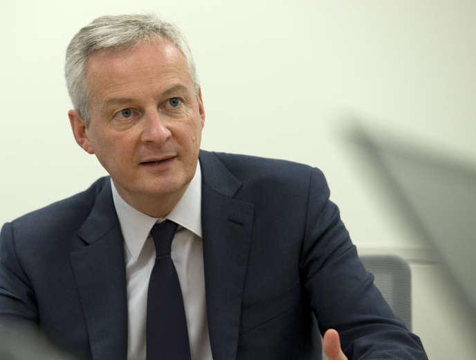 « Le libra n'est pas le bienvenu en Europe», a déclaréBruno Le Maire, le ministre français de l'économie, lors d'une conférence de presse à Washington, le 18 octobre.