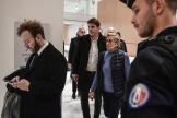 La première adjointe de Levallois, Isabelle Balkany, à son arrivée au tribunal de Paris, le 18 octobre.