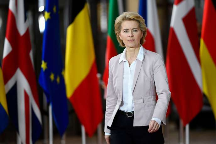 Ursula Von der Leyen a été invitée à participer à la réunion des chefs d'Etat et de gouvernement, jeudi 17 et vendredi 18 octobre.