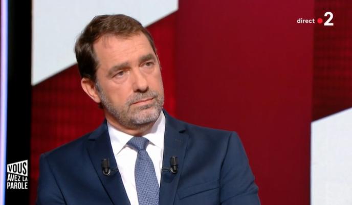 Christophe Castaner a défendu son action au ministère de l'intérieur sur France2, jeudi17octobre.