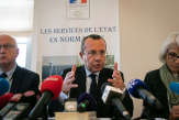 Depuis l'incendie de Lubrizol à Rouen, le préfet Pierre-André Durand «seul face à tous»