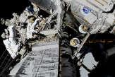 Pour la première fois, deux femmes ont effectué une sortie spatiale ensemble