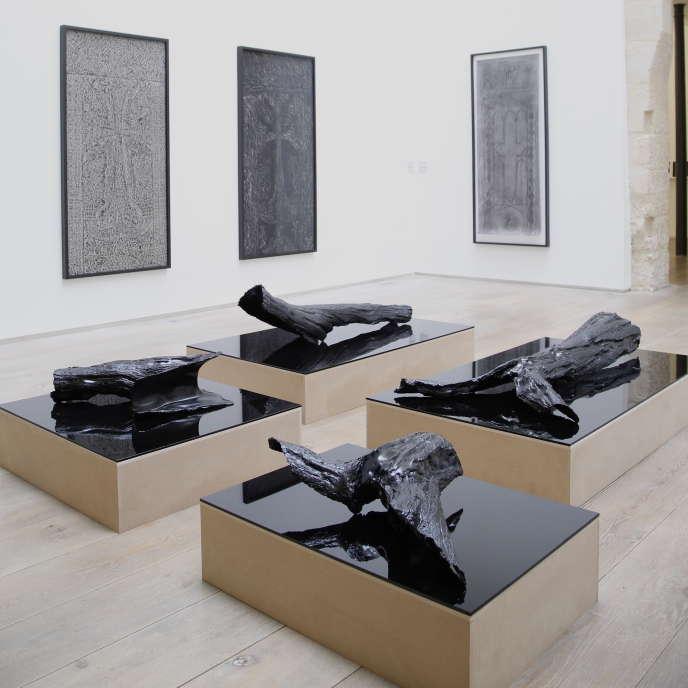 «Trois arbres», l'exposition de Pascal Convert à la galerie Eric Dupont, 2019.