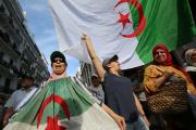 Manifestation à Alger, le 18 octobre.