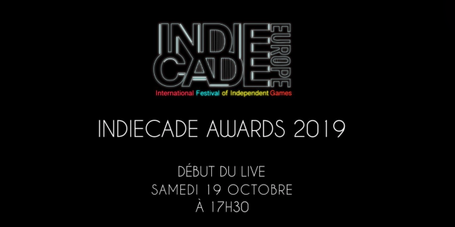 IndieCade Europe 2019 : suivez en direct la remise des prix du jeu vidéo indépendant
