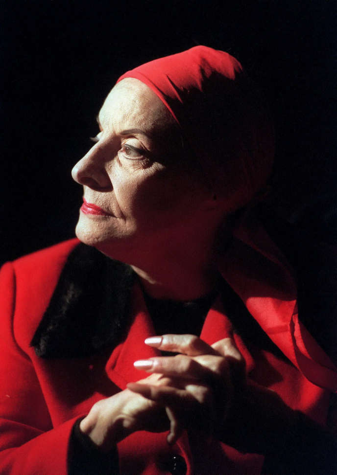Alicia Alonso le 27 janvier 1998 à New York.