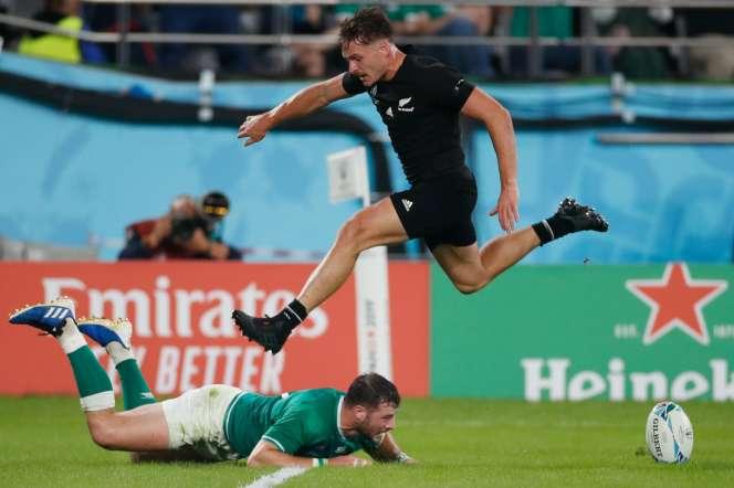 Implacable mécanique, l'équipe néo-zélandaise a inscrit sept essais face à l'Irlande.