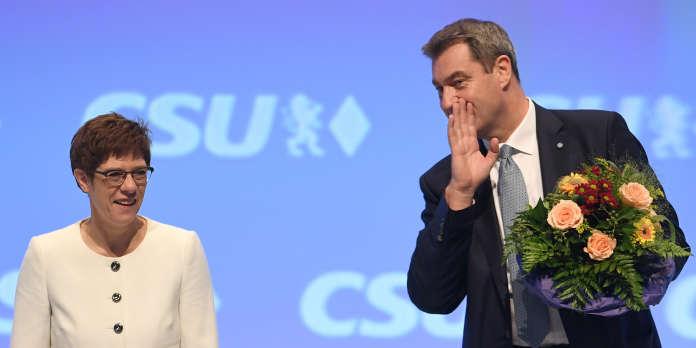 En Allemagne, les difficultés d'« AKK », la « dauphine de Merkel »
