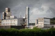L'usine chimique de Borealis à Grand-Quevilly (Seine-Maritime), près de Rouen, le 1eroctobre.