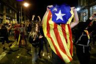 Dans les rues de Barcelone, samedi 19 octobre 2019