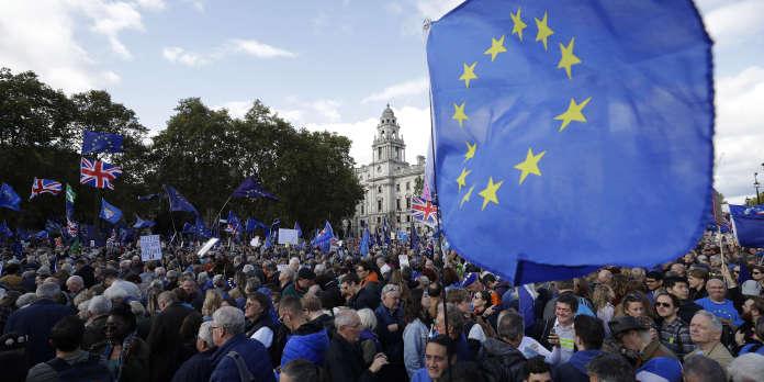 Pour les anti-Brexit, la manifestation du dernier espoir