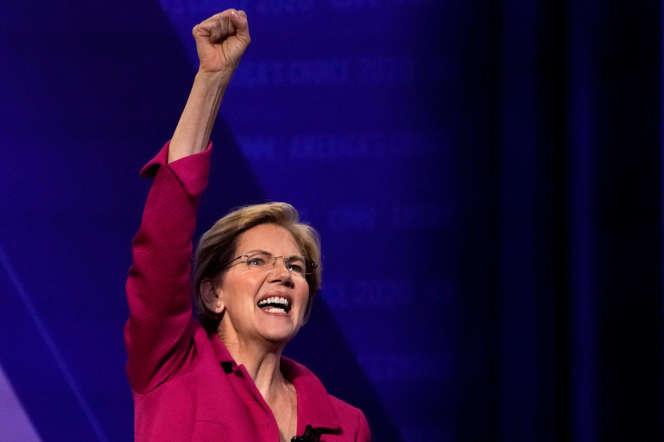 La démocrate Elizabeth Warren a fait du démantèlement des GAFA l'un des points clés de son programme économique.