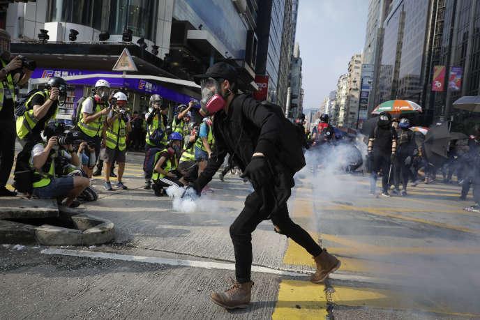 La mobilisation était née en juin du rejet d'un projet de loi qui voulait autoriser les extraditions vers la Chine.