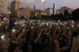 Manifestation contre la classe politique accusée de corruption, à Beyrouth, le 19 octobre.