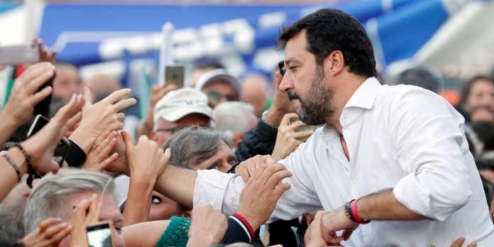 A Rome, Matteo Salvini réussit à rassembler toutes les droites derrière sa bannière
