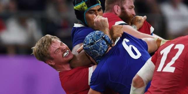 Coupe du monde de rugby 2019: le geste inexpliqué de Sébastien Vahaamahina