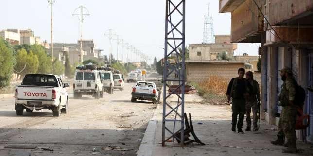 En Syrie, les combattants kurdes ont évacué la ville assiégée de Ras Al-Aïn