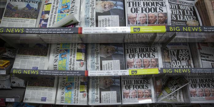 Brexit : la presse britannique divisée entre exaspération et espoir d'éviter un « no deal »