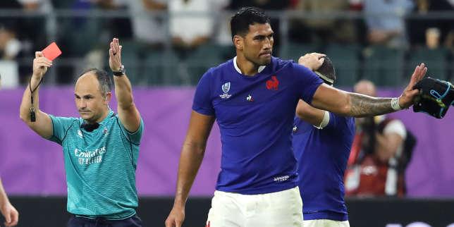 Coupe du monde de rugby2019: pour son coup de coude, le Français Sébastien Vahaamahina suspendu six semaines