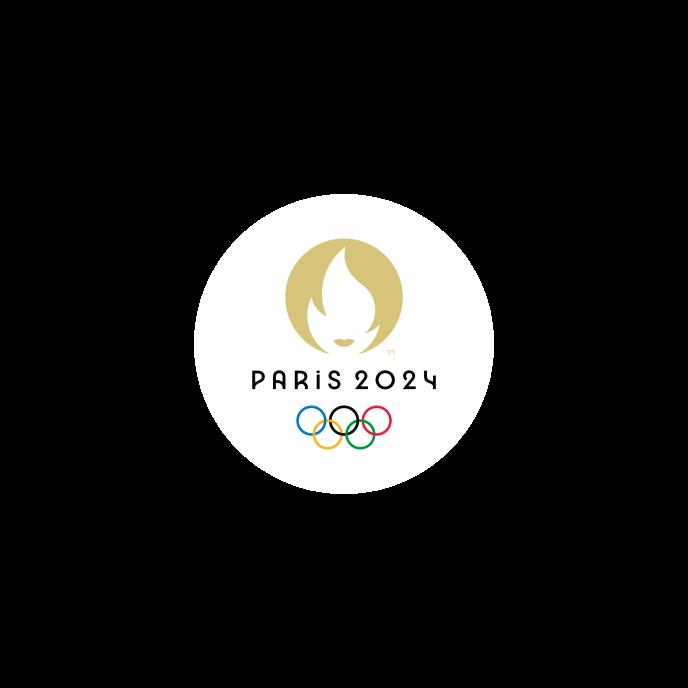 Le nouveau logo de Paris 2024.