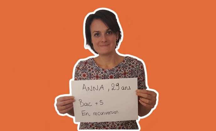 Anna , 29 ans.