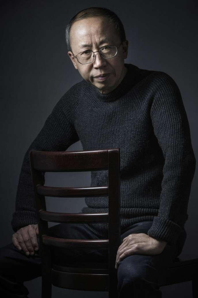 Huang Yong Ping, à Ivry-sur-Seine (Val-de-Marne), en mars 2016.