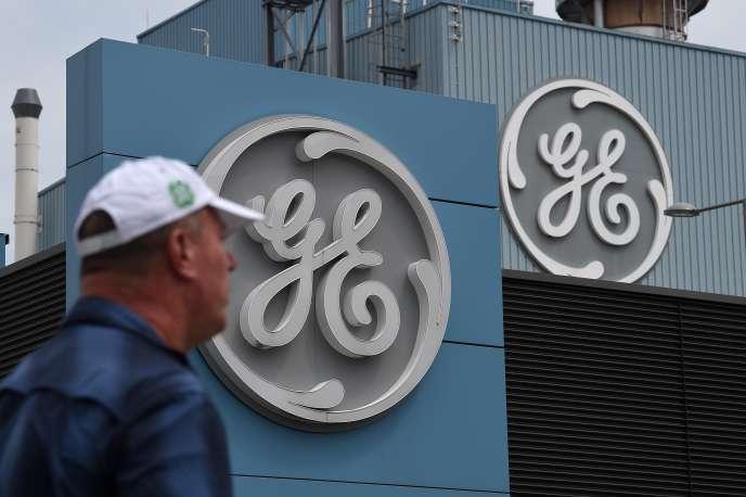 Un salarié de la General Electric, à Belfort, le 3 juin 2019.