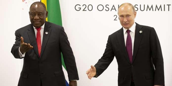 Poutine met en scène le retour russe en Afrique