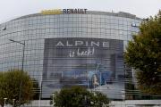 Le siège du constructeur automobile Renault, à Boulogne-Billancourt (Hauts-de-Seine), le 11 octobre.
