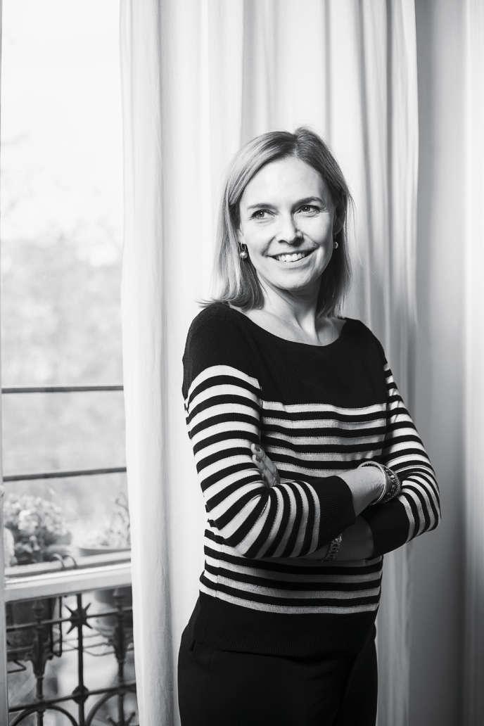 Marie-Laure Fréchet, journaliste culinaire.