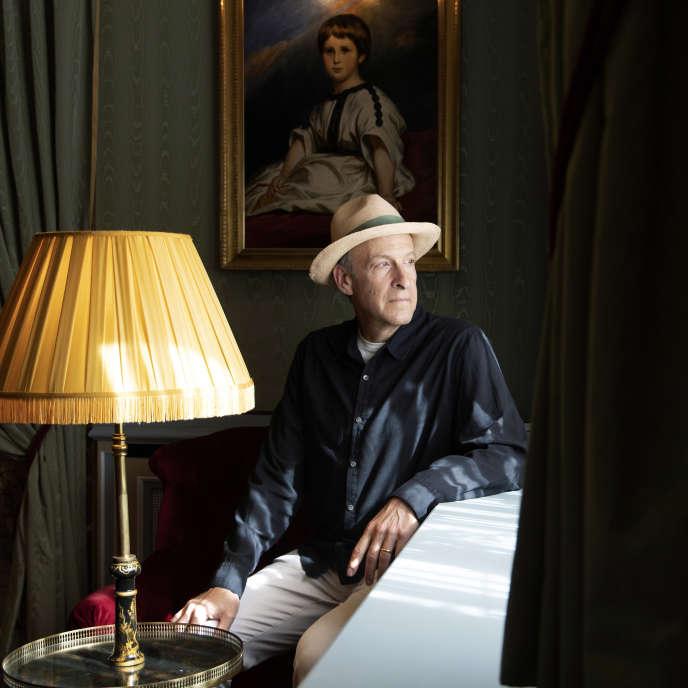 L'écrivain américain Seth Greenland, à Paris, en juin 2019.
