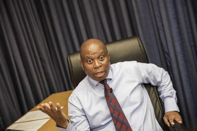 Herman Mashaba, le maire de Johannesburg, en septembre 2016.