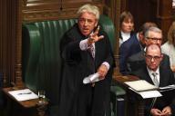 John Bercow, le « speaker» de la Chambre des communes, le 21 octobre.