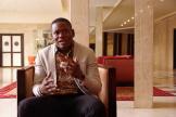 Jean-Paul Dossou, médecin béninois spécialisé en santé publique, à Dakar, en octobre 2019.