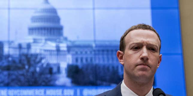 Facebook: suivez en direct l'audition de Mark Zuckerberg au Congrès américain