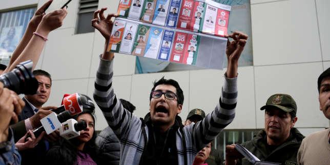 Selon un décompte rapide des voix, Evo Morales se dirige vers une victoire au premier tour en Bolivie