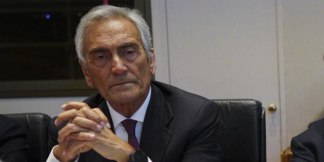 Gabriele Gravina, le président de la fédération italienne de football, souhaitait se coordonner avec le ministère de l'intérieur avant de tester le système de radar.