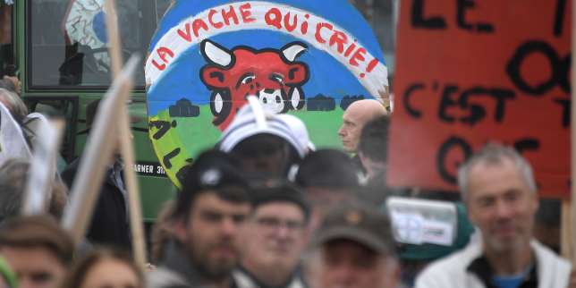 A Strasbourg, une «agroparade» paysanne contre l'agrobusiness