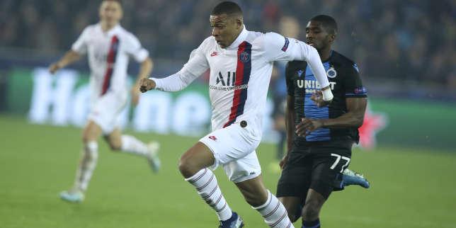 Ligue des champions: à Bruges, le manifeste réaliste de Kylian Mbappé