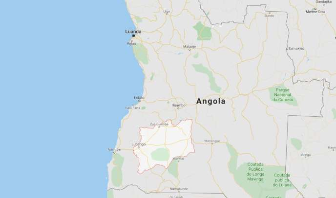 La province de Huila est située dans le sud de l'Angola.