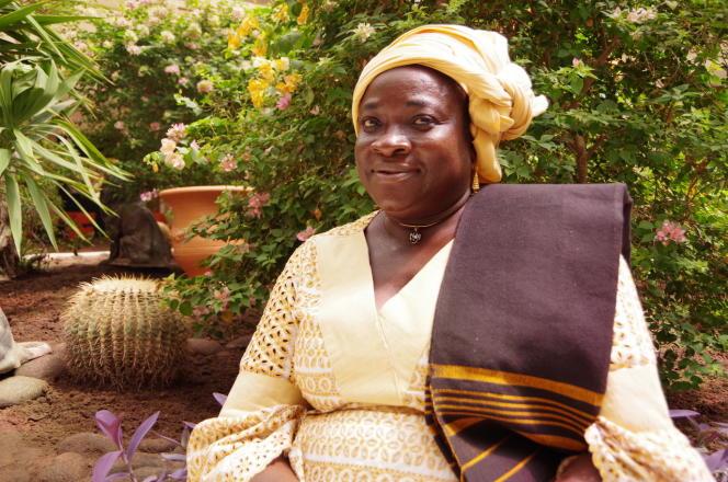 La sage-femmeFlorence-Marie Sarr Ndiaye à Dakar, en octobre 2019.