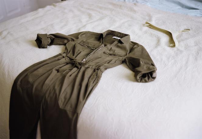 Combinaison Opalite en coton stretch, MKT, 129 €. Stylisme de Laëtitia Leporcq.