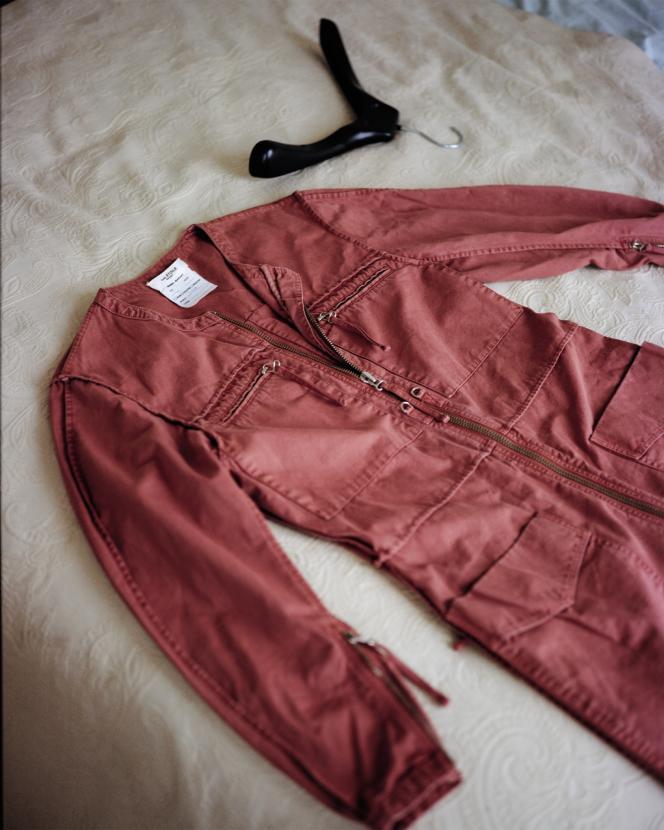 Combinaison Leiko en coton, Isabel Marant Etoile, 460 €.Stylisme de Laëtitia Leporcq.
