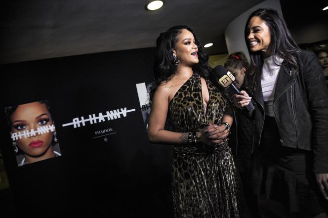 Rihanna, lors de la soirée de lancement de son livre éponyme à New-York le 11 octobre 2019.