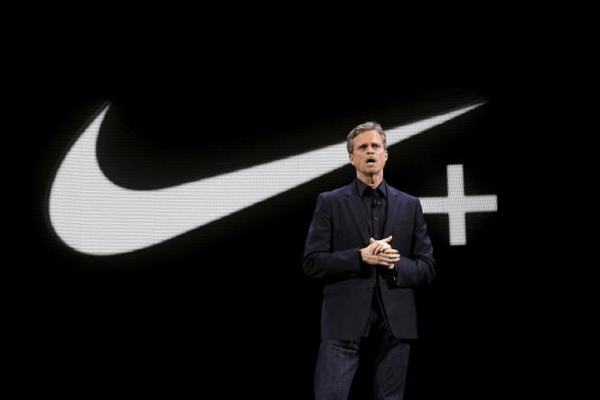 Le directeur général de Nike, Mark Parker, à New York, en mars 2016.