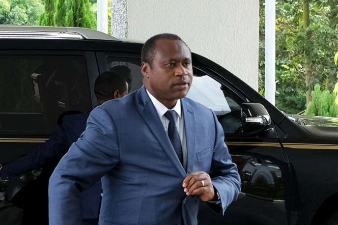 Le ministre rwandais de la planification économique et des finances, Uzziel Ndagijimana, à Kigali, le 13juin 2019.