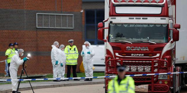 Les 39 personnes retrouvées mortes dans un camion au Royaume-Uni étaient chinoises