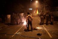 Manifestation à La Paz, en Bolivie, le 22 octobre.