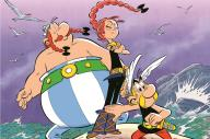Il s'agit du quatrième album d'Astérix réalisé par letandem Conrad-Ferri.